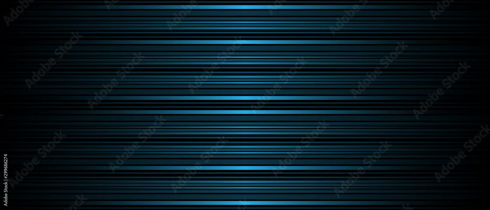 Fototapety, obrazy: Dark Abstract background texture of horizontal lines