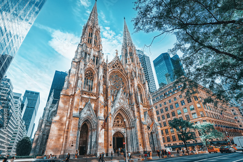 Valokuva New York, USA, Cathedral of St. Patrick .