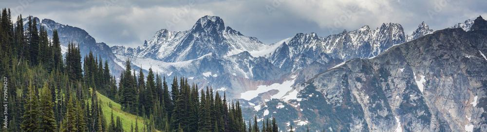 Fototapeta Mountains in Washington