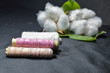 canvas print picture - cotton  sewing threads..cotton,