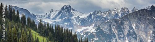 Stampa su Tela Mountains in Washington
