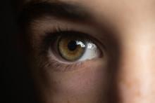 A Child's Eye Close Up