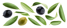 Black And Green Olives With Le...