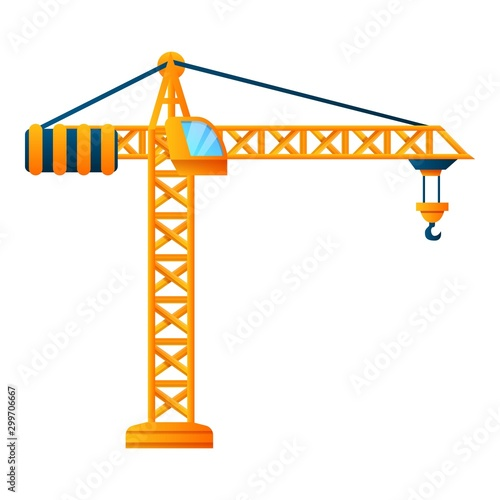 Платно Construction crane icon