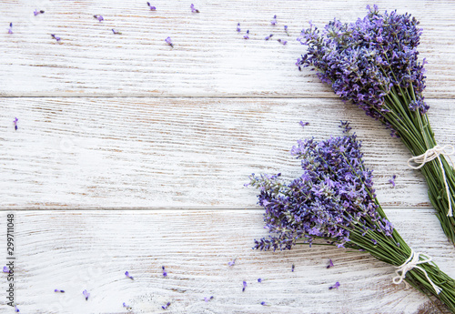 Fototapeta Fresh flowers of lavender obraz