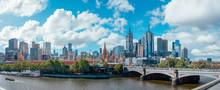 Melbourne Cityscape Skyline