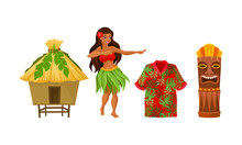 Hawaiian Woman, Home And Other...