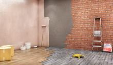 Renovation Of Walls And Floor,...