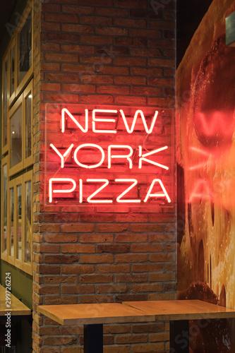 Fototapeta New York Pizza obraz