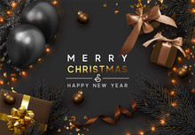 Christmas Background. Xmas Des...
