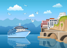 Landscape With Great Cruise Li...