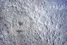 The Moon In Outer Space