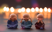 The Monk Dolls Are Molded Usin...