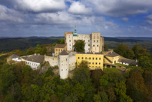 Castle Buchlov, The First Building Of The Castle Dates Back To The 13th Century. Buchlov Is One Of The Oldest Castles In The Czech Republic.