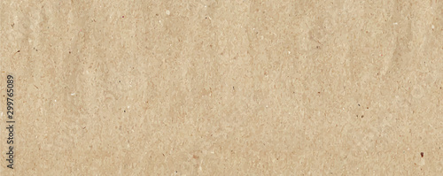Fotomural  brown paper craft canvas long background