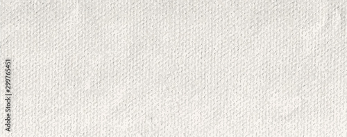 Obraz long white pound paper texture canvas vector - fototapety do salonu