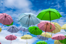 Colorful Fancy Umbrella Line D...