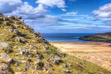 Baile Mhargaite Broch (site Of Ruins) Overlooking Torrisdale Bay, Bettyhill