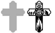 Firefighter Cross