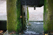 Fountains And Garden Pond In A...
