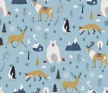 Merry Christmas Winter Pattern...