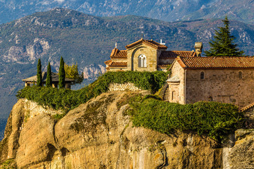 Fototapeta na wymiar Monastery Of Meteora - Greece, Europe