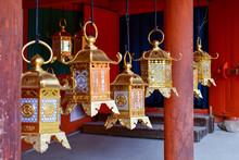Ornate Bronze Lanterns At The ...