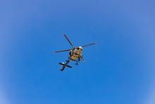 Polizei Hubschrauber Im Einsat...