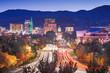 canvas print picture - Boise, Idaho, USA downtown cityscape