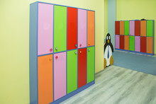 Strong Rows Of Color Lockers I...