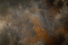 Abstract Brown Background Text...