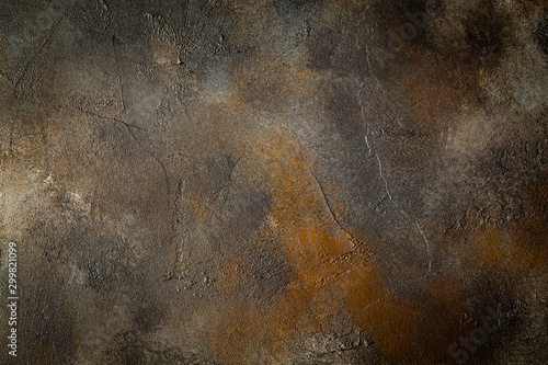 Obraz abstract brown background texture concrete wall - fototapety do salonu