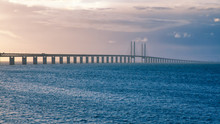 Öresund Bridge Sunset
