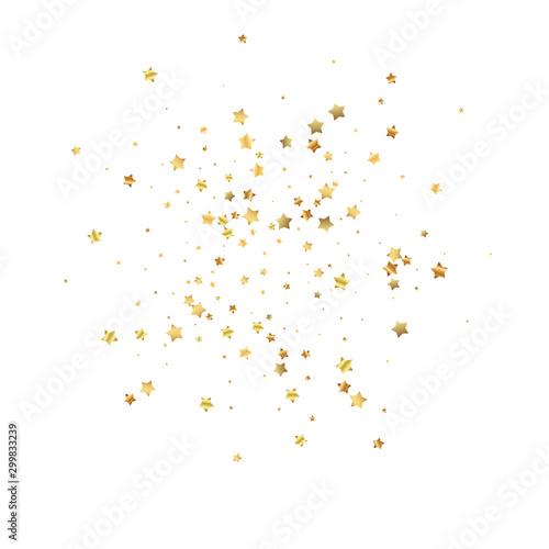 Fototapeta Gwiazdki  gold-stars-random-luxury-sparkling-confetti-scatt