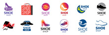 Vector Logo For Shoes And Sneakers Store