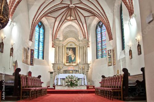 Fototapeta  wnętrze kościoła