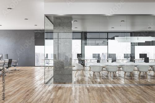 Obraz Clean office interior - fototapety do salonu
