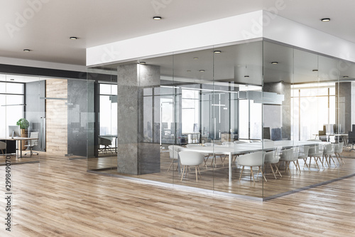 Obraz New office interior - fototapety do salonu