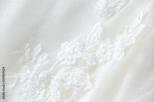 Fotografía  Wedding dress lace close up macro