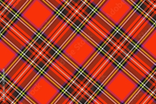 Cadres-photo bureau Artificiel tartan seamless pattern background