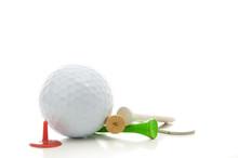 Golf Ball, Divot Repair Tool, ...