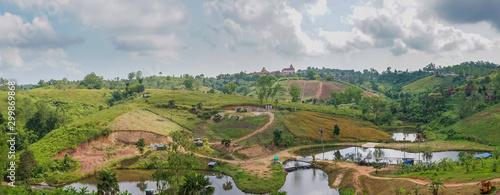 Fotografía  Panoramic view of the mountains and skies Khao Kho, Phetchabun Province thailand