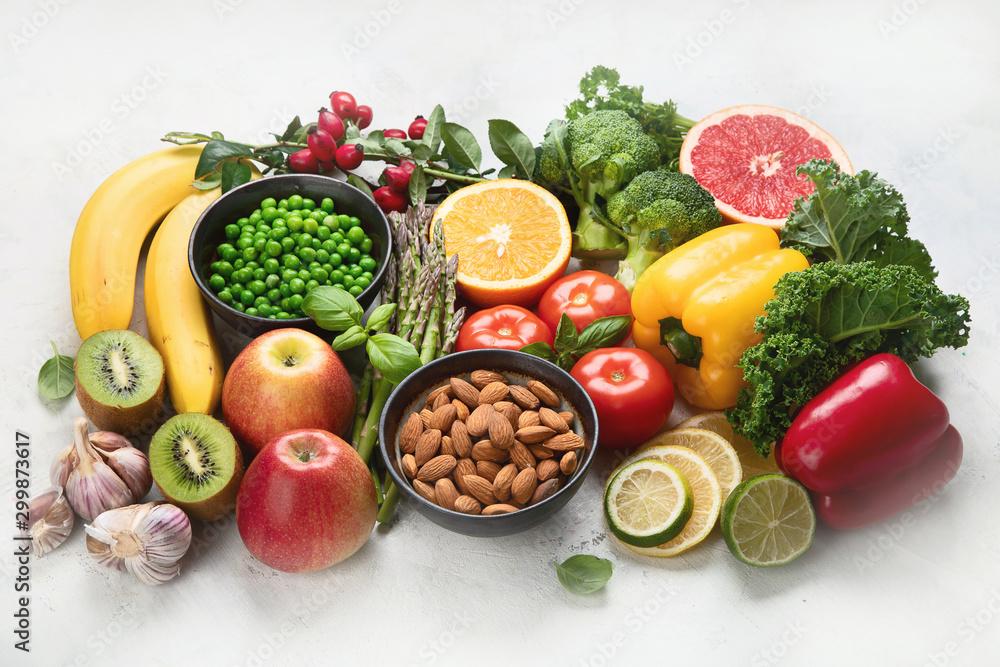 Fototapeta Foods high in vitamin C