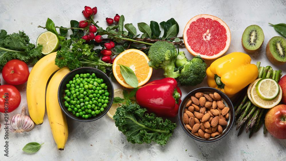Obraz Foods high in vitamin C fototapeta, plakat