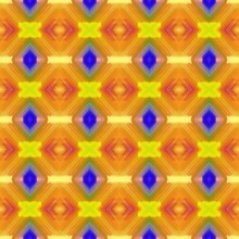 Seamless Pattern - Modern Futu...