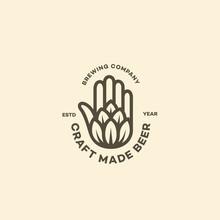 Hand And Hop Logo