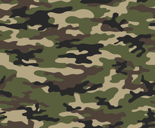 Camouflage Army Seamless Vecto...
