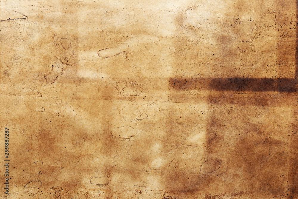 Fototapety, obrazy: Old paper brown background vintage textured grunge.