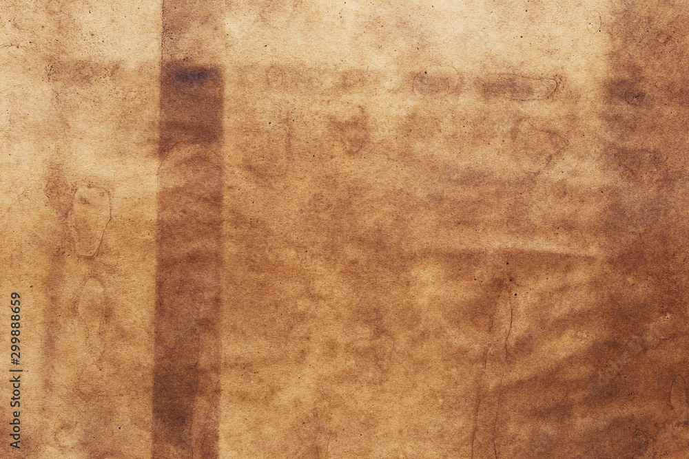 Fototapety, obrazy: Old paper brown background vintage textured grunge.
