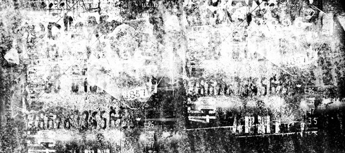 Photo  Abstract grunge lettering background